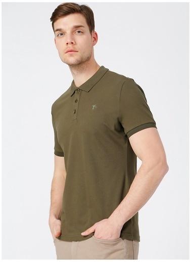 Fabrika Fabrika Erkek Haki Polo T-Shirt Haki